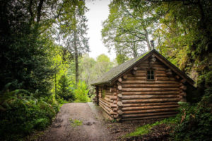 Lake District Log Cabin