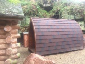 eco cabin exterior
